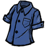 Blue Gem Blue Buttoned Shirt скин