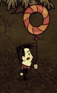 Только что созданный шарик