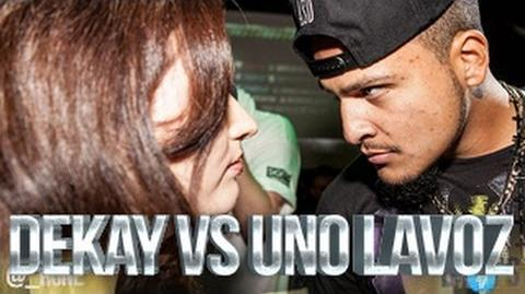 DON'T FLOP - Rap Battle - Dekay Vs Uno Lavoz