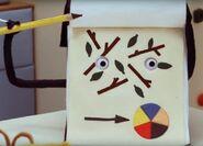 Sketchbook - Leaves and sticks