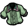 Pleated Shirt (Shipwrecked Green)