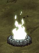 Endotermiczne obudowane ognisko w grze