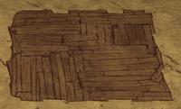 Ziemia pokryta drewnianą podłogą