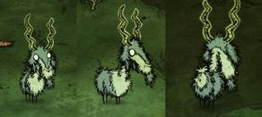 Naładowana koza błyskawic w grze
