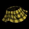 Butter Yellow Plaid Skirt