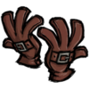 Buckled Gloves Firehound Red