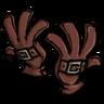 Buckled Gloves Firehound Red