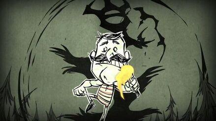 Cienisty Goniec goniący Wolfganga na trailerze Don't Starve Together