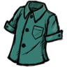 Buttoned Shirt (Doydoy Teal)