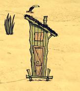 Dom świni tubylca w grze (DSS)