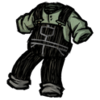 Spiffy Overalls Scribble Black