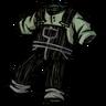 Spiffy Overalls Scribble Black