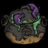 Elegant Creepy Cauldron