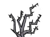 Kolczaste drzewo