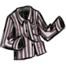 Spiffy Jammie Shirt Snail Mucus Purple