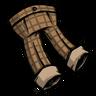 Lumberjack Orange Checkered Trousers