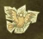 Zamrożony Czerwony ptak