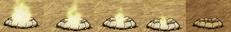 Natężenie ognia obudowanego ogniska