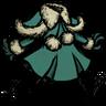 Distinguished Yuletide Frock