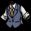 Classy Tweed Waistcoat Lightning Goat Blue
