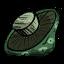 Zielony grzyb