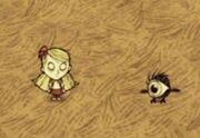 Wendy w towarzystwie Małego ptaka