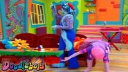 The Doodlebops 205 - All Aboard the Doodle Train HD Full Episode