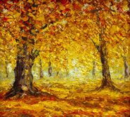 114546195-original-oil-painting-contemporary-style-golden-autumn-trees-autumn-forest-park-impressionism-oil-pa