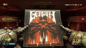 """Doom """"Goroth"""" Vinyl Record Collectible"""