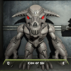 Icon of Sin Figure