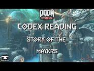 Doom Eternal Codex - Story Of The Maykrs -Urdak, Khan Maykr, Maykr Angels-