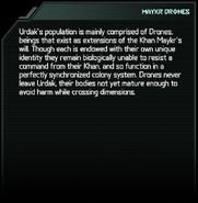 Maykr Drone Codex Entry