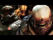 DOOM- ORIGINS - WHAT HAPPENED TO THE MARTIANS IN DOOM 3? EXPLAINED - HISTORY AND LORE