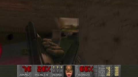 Doom II (1994) - MAP07 Dead Simple 4K 60FPS