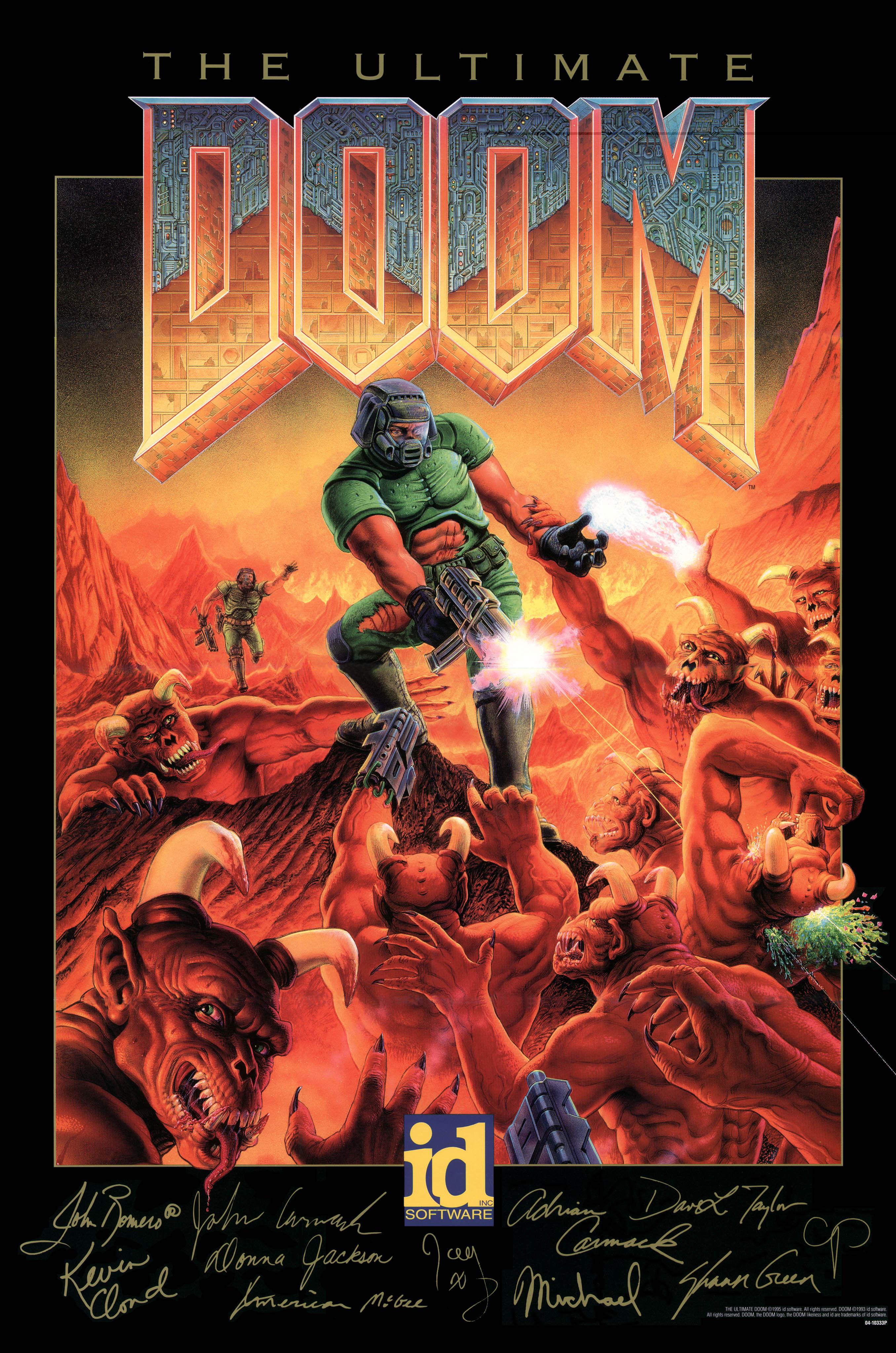GeoffLedak/Doom II Box Art Painting