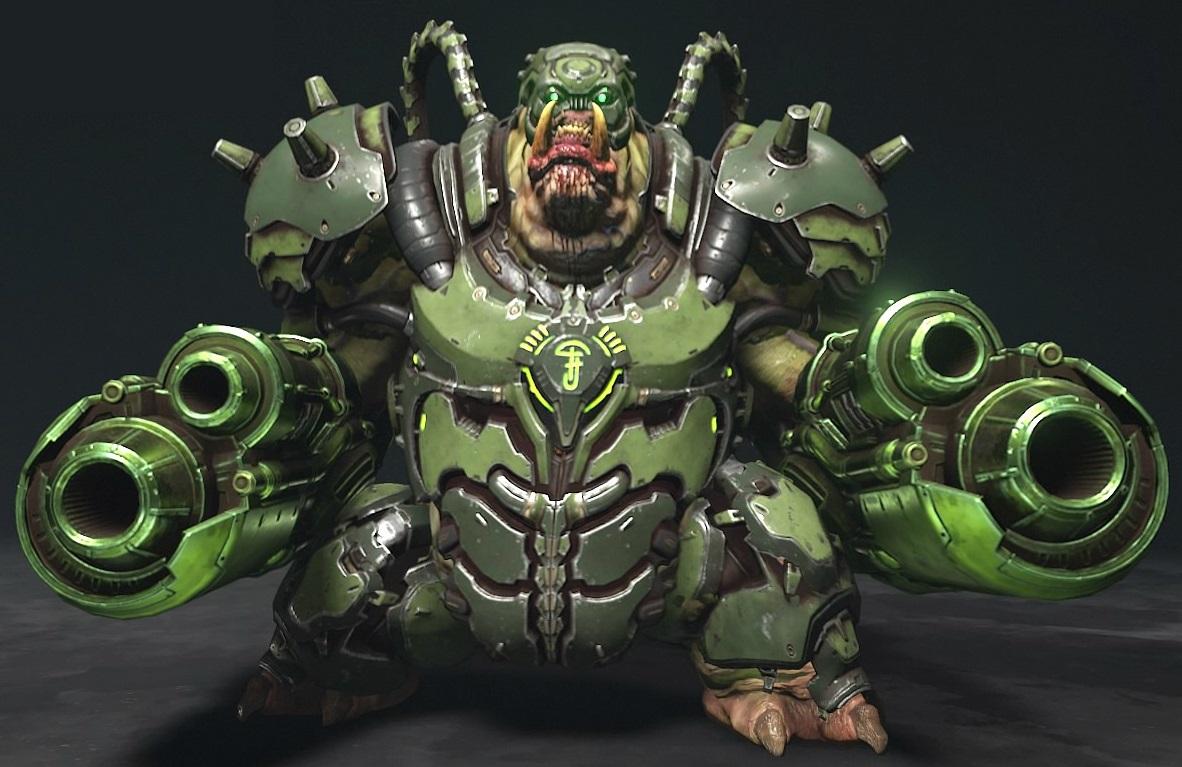 Cyber-Mancubus/Doom Eternal