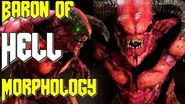 Baron of Doom Explained vs knight, Lore, Morphology, Glory and Fight Doom 2016 and Eternal