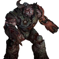 Doom (2016) monsters