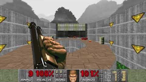 Doom (1993) - E1M3 Toxin Refinery 4K 60FPS