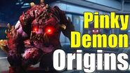 The Pinky Demon Origins in Doom 2016 Where did it come from? Evolution of course! Lore Explained