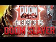 DOOM Eternal Lore - The Story of the DOOM SLAYER -- His True Identity Revealed