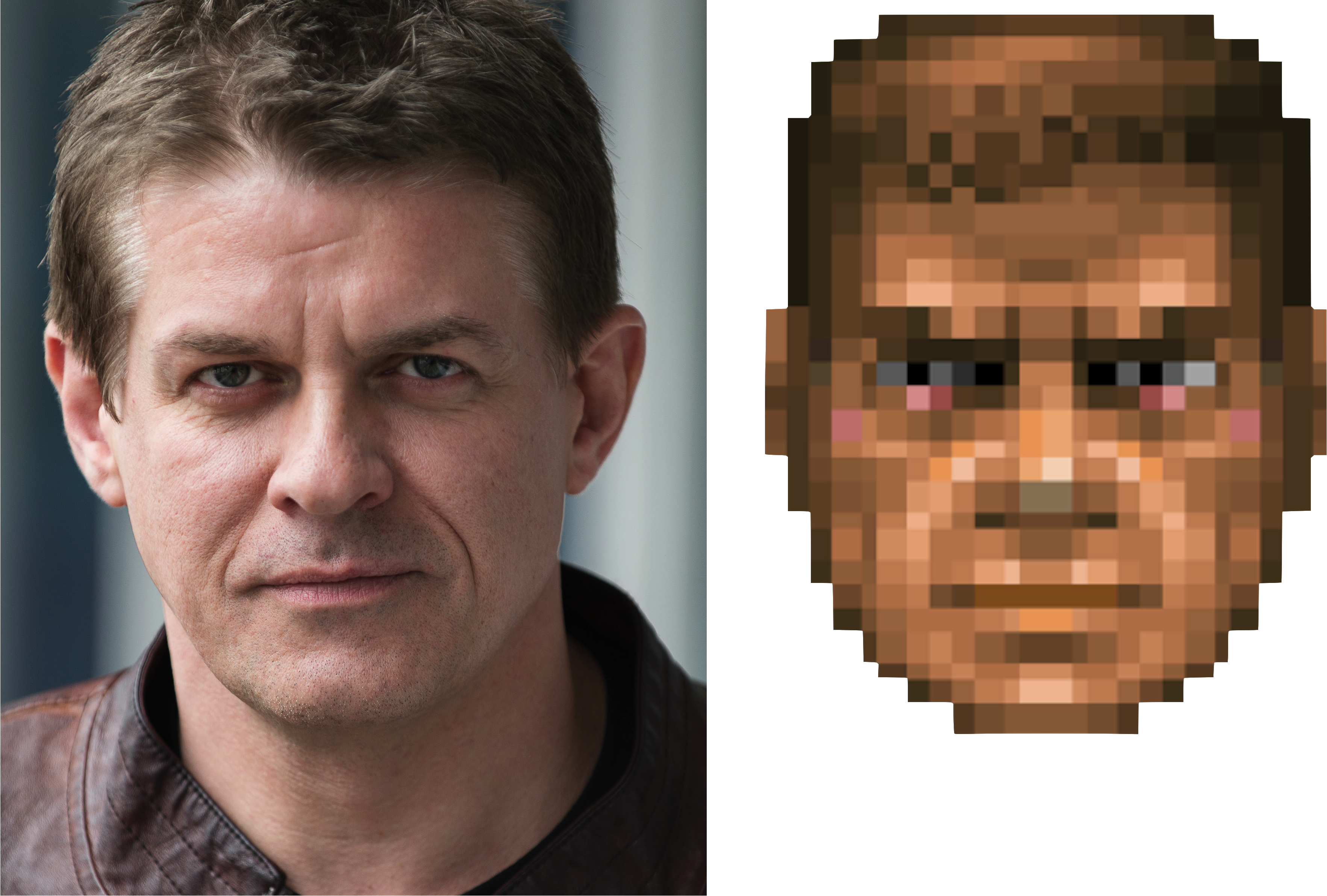 Jykale/I doubt that Amy or Nina will replace Doomguy in the 2019 Doom movie.