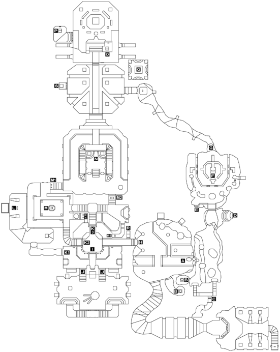 Map of the Temple