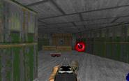 E1M6 blue armor tunnel