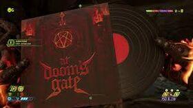 Doom Vinyl Record Collectible