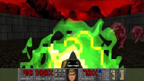 Doom (1993) - E3M5 Unholy Cathedral 4K 60FPS