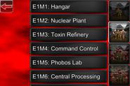 Doom Classic level select