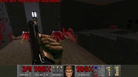 Doom II (1994) - MAP06 The Crusher 4K 60FPS