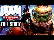 DOOM ETERNAL- The Ancient Gods Part 2 All Cutscenes (Game Movie) 1080p 60FPS
