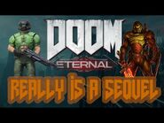 DOOM (ETERNAL) REALLY IS A SEQUEL -- Lore Store